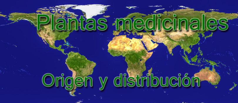 Plantas medicinales - origen y distribución